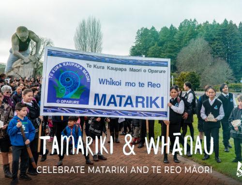 Tamariki & whānau celebrate Matariki and Te Reo Māori