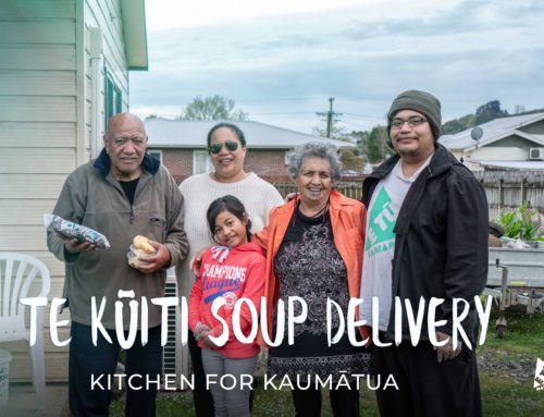 Te Kūiti soup delivery kitchen for kaumātua