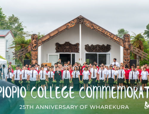 Piopio College commemorate 25th Anniversary of Wharekura
