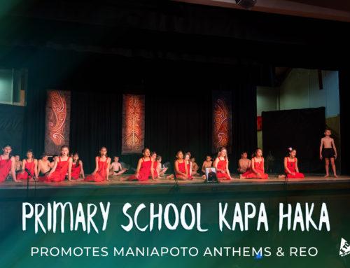 Primary School kapa haka promotes Maniapoto anthems & reo