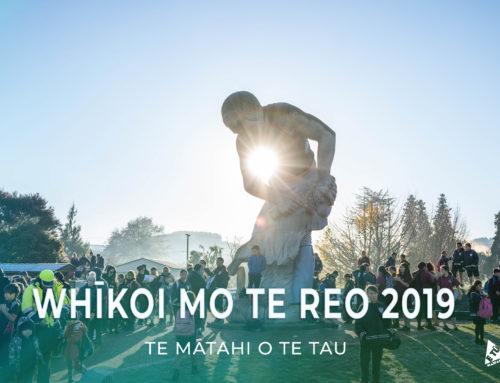 Whīkoi mo te Reo 2019 – Te Mātahi o Te Tau