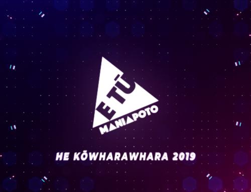 He Kōwharawhara | Rangatahi Wānanga 2019