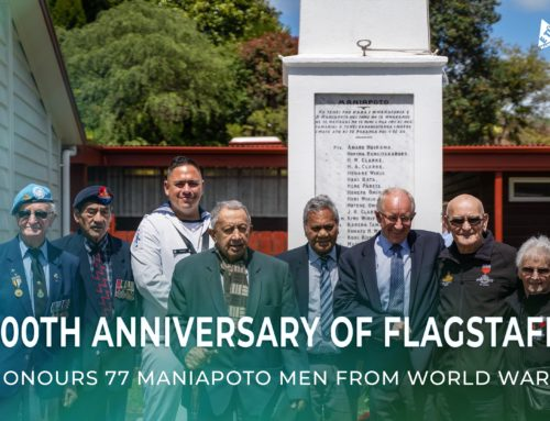 100th Anniversary of flagstaff honours 77 Maniapoto men from World War 1