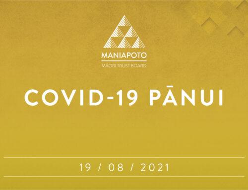 Covid-19 – Iwi update