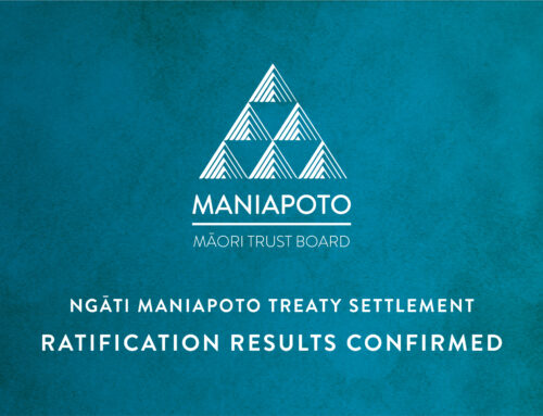 Media Statement – Maniapoto Treaty Settlement Ratification results confirmed
